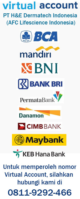 rekening bank afc lifescience indonesia